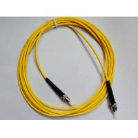 Fiber Optic Patch Cord ST-ST Single mode , Simplex(SM SX) easy for operation for FTTX + LAN Manufactures