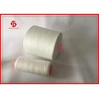 China 50/2 Recycled Polyester Sewing Thread Raw White / Autocone Waxed Colours wholesale