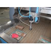 Small Water Jet Cutting Machine For Metal / Marble Germany Siemens Main Motor Manufactures