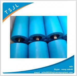 HDPE conveyor idler for copper belt conveyor Manufactures