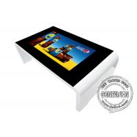 China Waterproof Capacitive Touch Screen Digital Signage 43'' Coffee / Tea Table With Windows System on sale