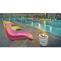 China Swimming Pool Rotomolded Chair / Rotational Moulding Products Impact Resistance on sale