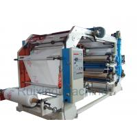 CE Certificated High Speed Non Woven Printing Machine in Red Blue Purple Yellow Manufactures
