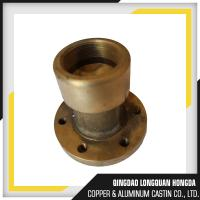 Brass / Bronze Gravity Die Casting Parts Size Customized For Automotive Manufactures