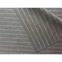 Multi Function Striped Felt Fabric , Hand Dyed Felted Wool Fabric Manufactures