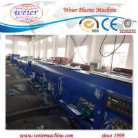 China PLC Siemens control system of Plastic Pipe Extrusion Line manufacture on sale