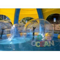 China Outdoor Inflatable Bumper Ball For Kids / Human Sized Hamster Ball on sale
