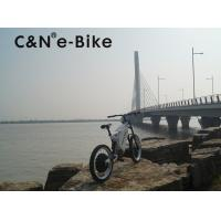 China 26 Inch Popular Motor Off Road Electric Mountain Bikes For Sportsman / Adults on sale