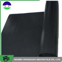 1.25mm HDPE Geomembrane Liner Ultra Tech Flexible Geomembrane For Subway Manufactures