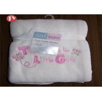 Super Soft Fuzzy Cozy Baby Plush Blanket Coral Fleece 30X40 100% Polyester Fleece for sale