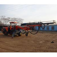 Wheel Based Underground Drilling Rig Machine With Energy Saving Air Compressor Manufactures