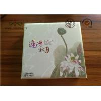 Luxury High Grade Moon Cake Packaging Box , Hot Foiling Printing Gift Paper Box Manufactures