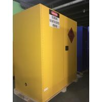 Steel Flammable Safety Cabinets With Self Latch Sliding Door For Gasoline / Pesticide Manufactures