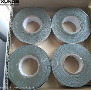 Gray / Black Butyl Sealing Tape , Aluminium Lamination Butyl Flashing Tape Manufactures
