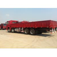 50T Heavy Cargo Truck 371 Horse Power 8×4 Drive Type 102km/H Max Speed Manufactures