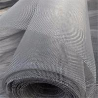 China 304 316 Knitted Stainless Steel Mesh  Sheet Reinforcing High Security for sale