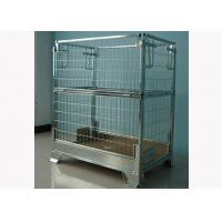 Cattle Metal Storage Cage Steel Calf Box Wire Container Type 1960X600X2103 MM Manufactures