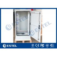 Front Access Outdoor Telecom Cabinet IP55 Galvanized Steel Electric Equipment Manufactures