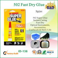 Adhesive 502 Fast Dry Glue Manufactures