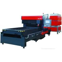 China Laser cutting machine with 1000/1500/2200W Fast Flow Generator for 1.8M/min speed for Dieboard Making on sale
