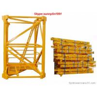 China Liebherr mast section for tower crane on sale