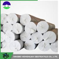 China Environmental Needle Punched Non Woven Geotextile Fabric 13.0kN/M Tensile Strength on sale