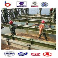 Compact 100 Truss Emergency Steel Bailey Bridge installation,321 Bailey Bridge Tablets, Manufactures