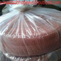 China 316 stainless steel SS Knitted Netting gas Liquid Filter Mesh/Titanium knitted wire mesh /nickel gas liquid filter mesh on sale