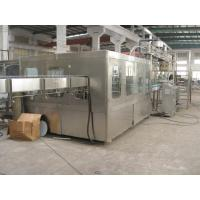 Multi Head 15000 BPH Bottled Automatic Water Filling Machine With Screw Plastic Cap Manufactures