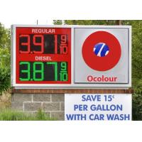 Electronic 6 inches gas price led sign for Fuel Station Price Changing Manufactures