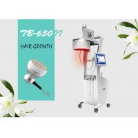 Professional Diode Laser Hair Loss Therapy Laser Hair Growth Machine / Equipment with LCD Screen Manufactures