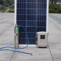 China Solar Powered Irrigation Submarine Deep Well Water Pump Submersible Off Grid MPPT Kits Bore on sale