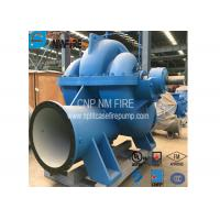 Split Case Emergency Fire Engine Water Pump Ductile Cast Iron Materials Manufactures