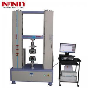 China 100Kn 200Kn 300Kn Rebar Metal Plastic Textile Tape Universal Tensile Testing Machine on sale