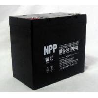 Deep Cycle Solar Battery (NP12-50Ah 12V 50AH) Manufactures