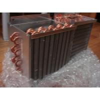 OEM 0.2 ~ 3.1mpa Copper Tube Fin Heat Exchanger For Industry / Commerce Air Conditioning Manufactures