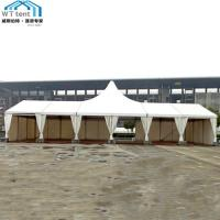 Quality Commercial Custom Party Tents Flame Retardant for 1000 People for sale