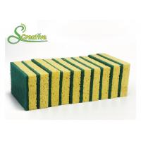 Non Scratch Cellulose Kitchen Sponge For Household Cleaning Eco Friendly Anti Microbial Manufactures