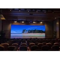 Quality 4Mm Fixed Installation Indoor Led Screen , Aluminum Video Led Panel Rgb Fcc for sale