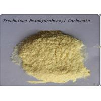 99% Purity Yellow Steroid Hormone Powder Trenbolone Hexahydrobenzyl Carbonate Manufactures