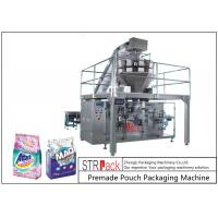 Powder / Granules Premade Pouch Packaging Machine High Efficiency With Linear Weigher Manufactures