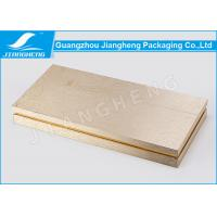 Quality Hot Stamping Cosmetic Packaging Boxes Gold Gift Environmentally Friendly Packaging for sale