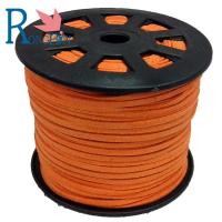 Top quality hot sale 3mm  Faux Flat Suede Leather Cord Manufacturer For Jewelry Making 19# Manufactures