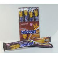 OEM 15g Crispy Wheat Sandwich Biscuits / Crispy and nice taste with chocolate&milk flavor Manufactures