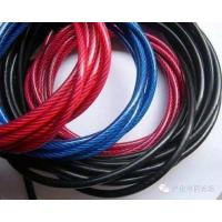 Zinc Plated Nylon Coated Wire Rope AISI Standard Steel For Mining Cableway Manufactures