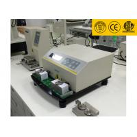 LCD Displays ASTM D5264 Ink Rub Test Machine , Professional Abrasion Testing Machine Manufactures