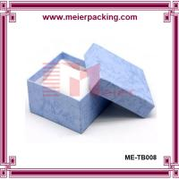 Cardboard and Paper Jewelry Gift Boxes Cotton Filled ME-TB008 Manufactures