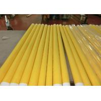 Low Elongation Monofilament Polyester Screen Printing Mesh With White And Yellow Manufactures
