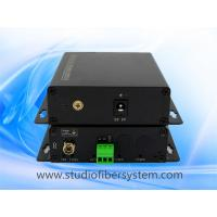 1CH analog audio fiber transmitters and receivers with Phoenix connectors for remote broadcast/studio system Manufactures