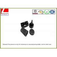 Plastic injection molded Bolts Used For Weighter , Plastic Molded Black Parts Manufactures